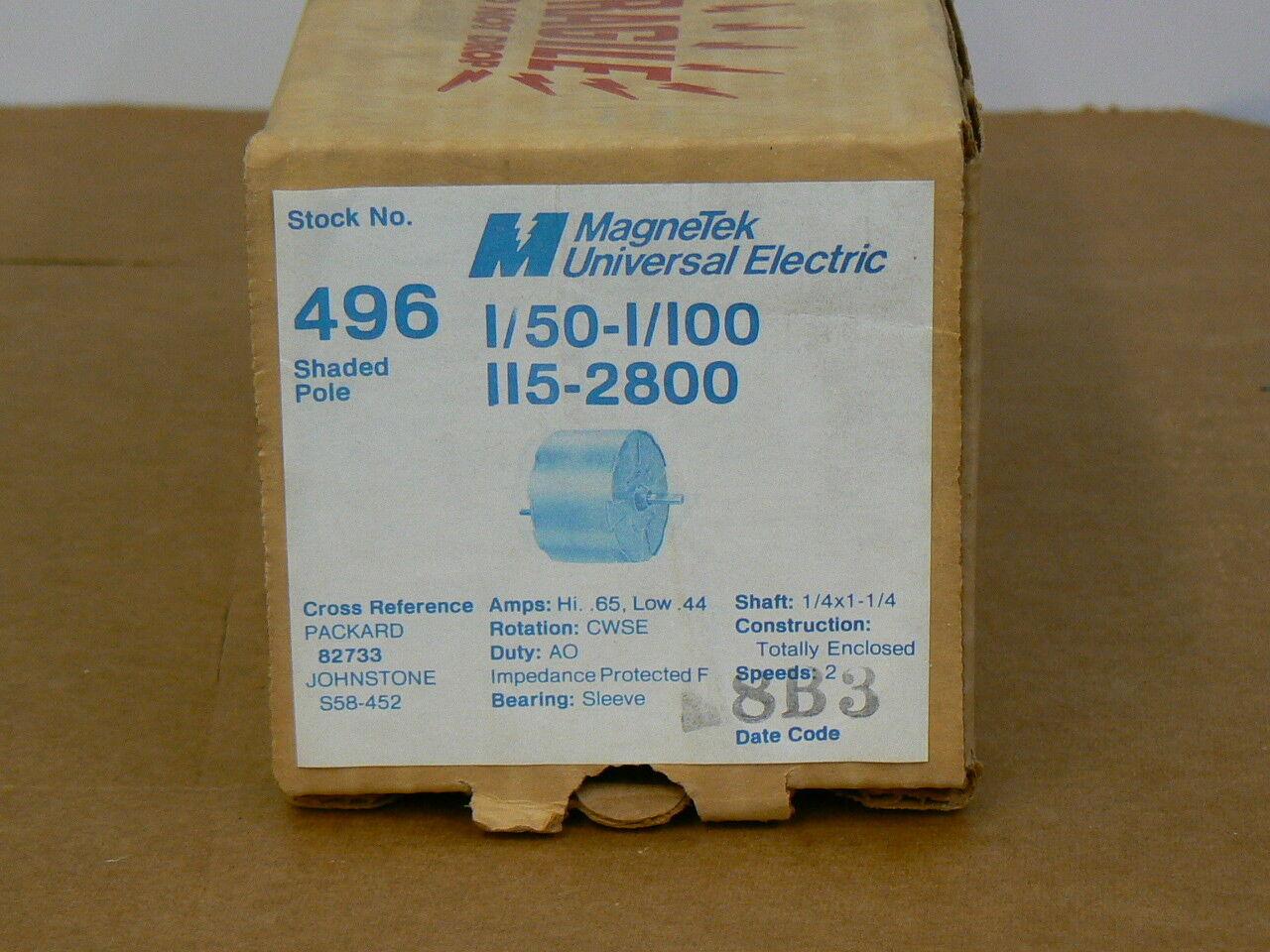 579 Magnetek Mkotor 1//50 HP Model JA1M147N FREE SHIPPING