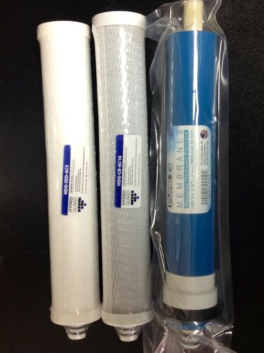 3PC Culligan* RO Filter Set With Membrane for Culligan AC15,AC30,LC50,H3 RO