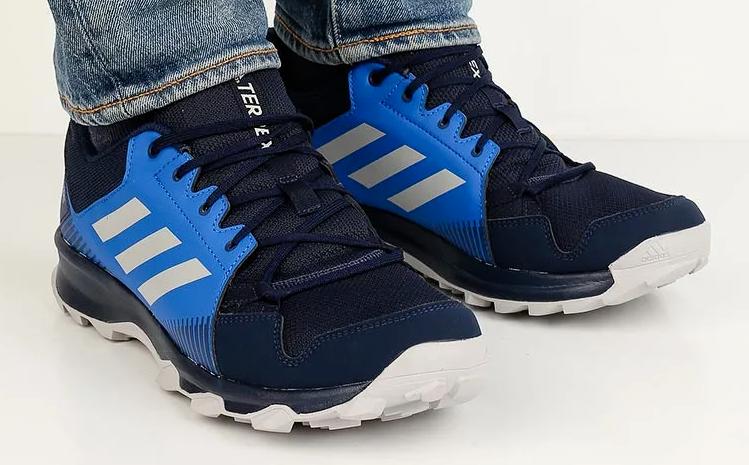 New in Box Homme ADIDAS TERREX TRACEROCKER GTX GORE TEX bleu Trail Randonnée Chaussures De Marche
