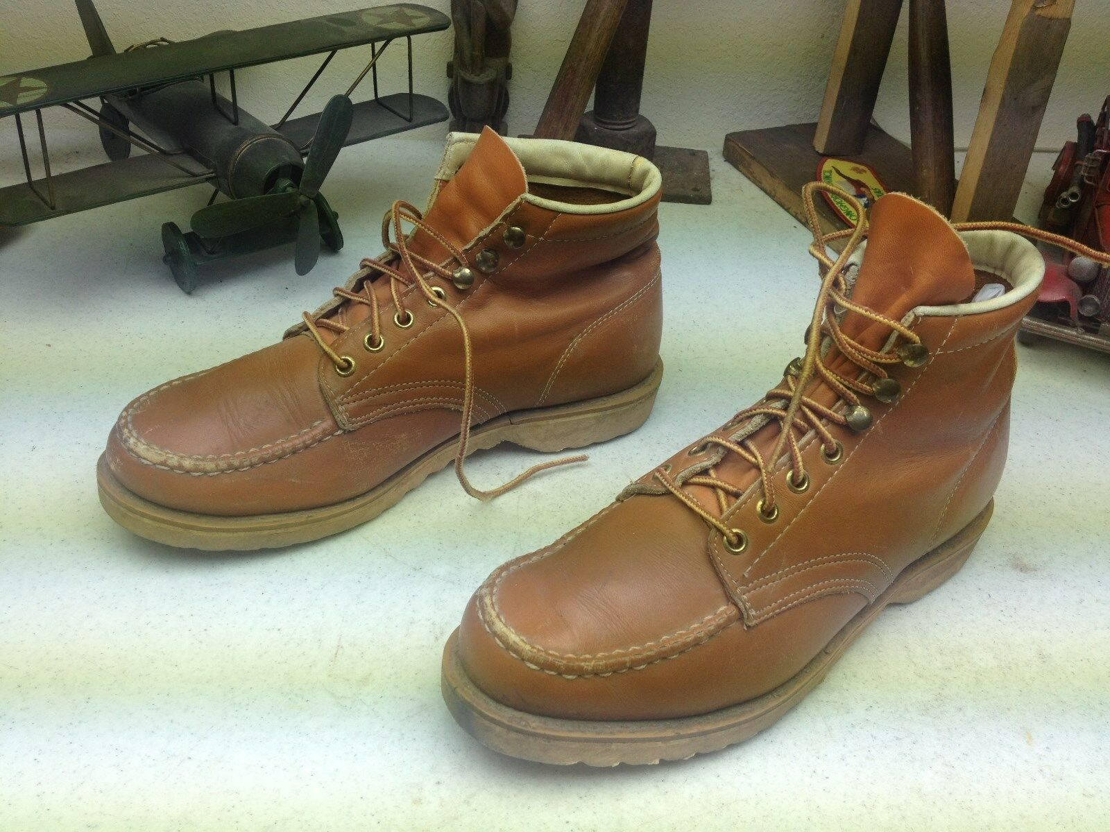 BILTRITE USA DISTRESSED LACE UP ENGINEER ENGINEER ENGINEER TRAIL BOSS PACKER WORK Stiefel 8.5 D 9eadca