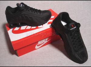 Détails sur Nike Shox r4 Triple Black taille 38 38,5 Noir ar3565 004 afficher le titre d'origine