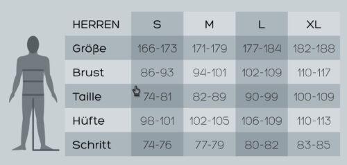 ENGEL SPORTS Herren Wolle und Seide 3//4 Leggings