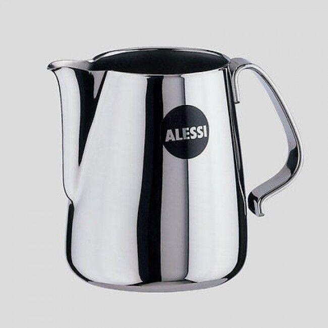 LATTIERA ACCIAIO INOX 18  ALESSI10 ALTEZZA 25 CM LATTE CAFFE' DESIGN