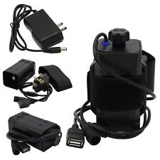 DC&USB Plug 8.4V 18650 Battery Pack Box for Bicycle Light Headlight Cellphone