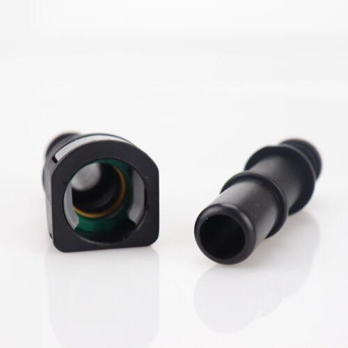 "15.82mm SAE 5//8/"" 16mm Nylon Fuel Line Quick Connect Release Hose Gas 2 pair"