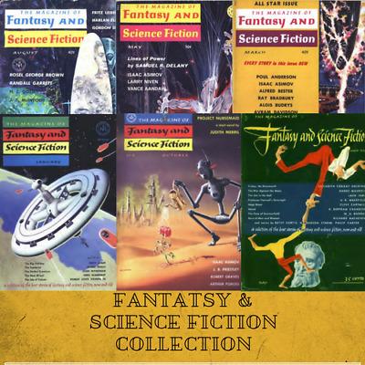 FANTASY & SCIENCE FICTION |Pulp Magazine 395 Rare Vintage Magazines ~ 1  Data DVD | eBay