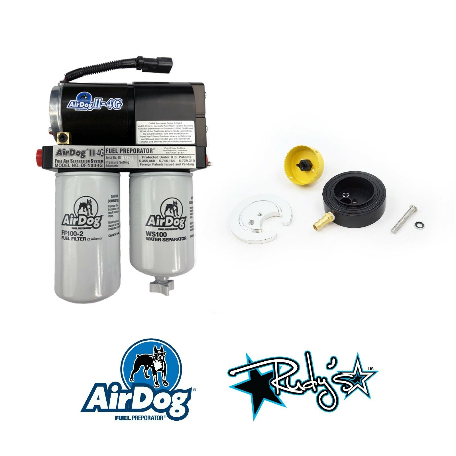Details about AirDog II 4G 100 GPH Fuel Lift Pump & Sump For 98 5-04 Dodge  5 9 Cummins Diesel