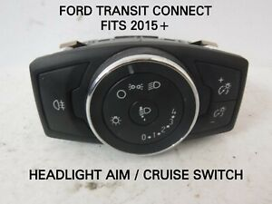 FORD-TRANSIT-CONNECT-HEADLIGHT-AIM-CRUISE-SWITCH-FITS-2015-BM5T-13A024-AD
