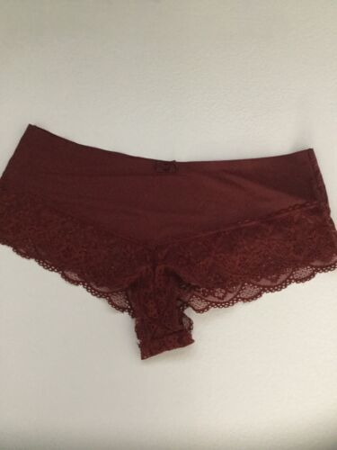 NEW set of 2 Free People Smooth French Knickers Boy Shorts Panties Undies