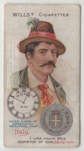 Italian-Italy-Man-1900-Clothing-Fashions-Hat-Coin-100-Y-O-Trade-Ad-Card