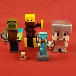 Minecraft-Figures-Lot-Steve-Zombie