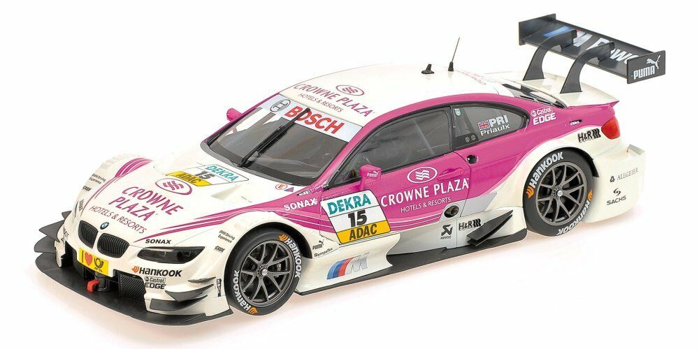BMW m3  15 DTM 2012 A. prialux 1 18 MODEL 100122215 Minichamps