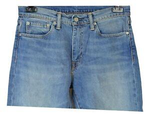 Levi-039-s-511-Herren-Jeans-Gr-W32-L30-Blau-Baumwolle-Casual-KK82