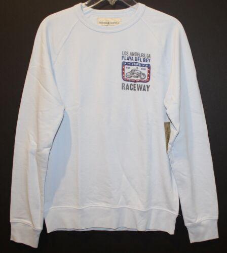 Ralph amp; Sweatshirt Xl Nwt Lauren Supply Denim Mens Crewneck Raceway Blue Size qErCqw8