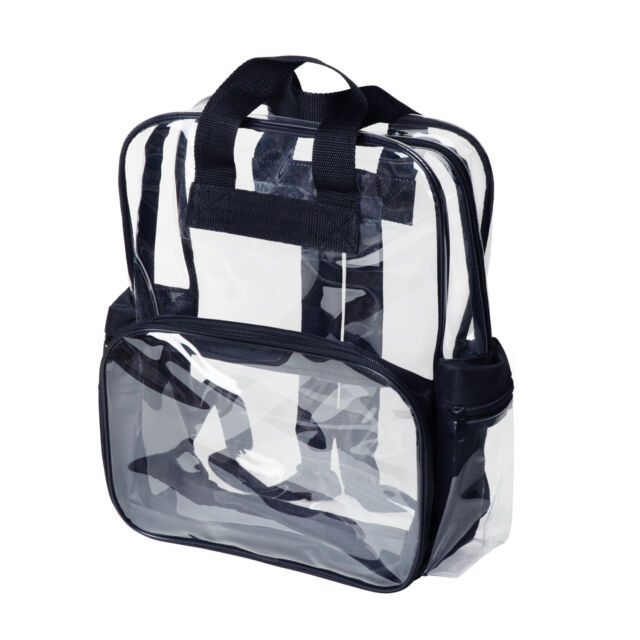 Kids Age 3 10 Elementary School Clear Backpack Transpa Security Book Bags