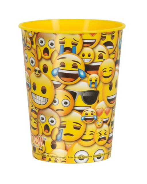 Face Emoticons EMOJI Birthday Party Range Tableware Balloons Decorations
