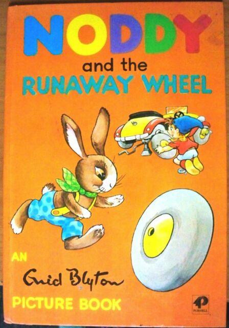 Noddy And The Runaway Wheel, by Enid Blyton - HB 0361027478