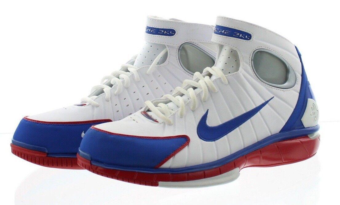 Nike 308475 Men's Air Zoom Hurache 2K4 Kobe All Star High Top Basketball Shoes