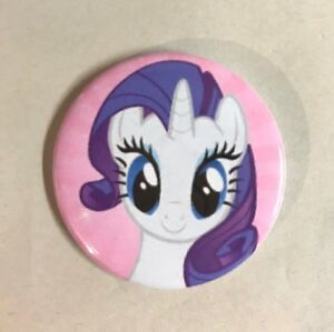 my little pony rarity button badge 2 25 pinback pin mlp jewelry