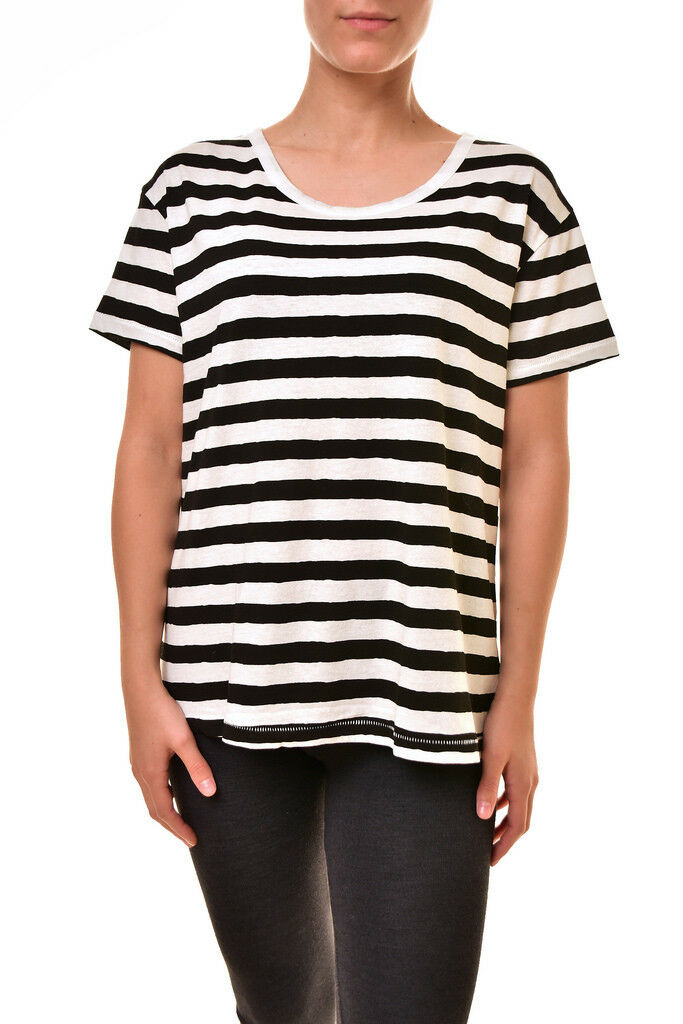 Sundry Woherren New Stripe Loose Tee Casual T-shirt Multi Farbe S