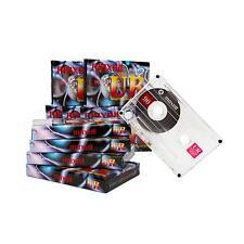 10x Maxell Audio Cassetta Musicassetta IEC Tipo I Nastro Cassetta vuota 90min
