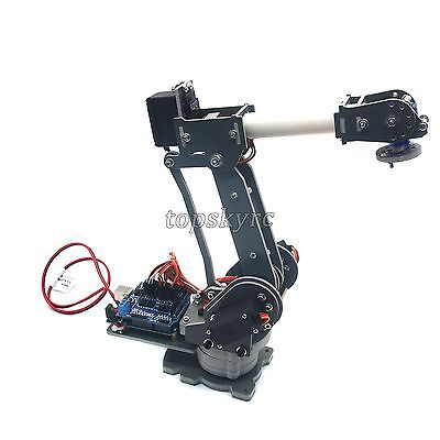 Abb Industrial Mechanical Robot Arm Rack w// 5 MG966R Servos /& 5 Steering Wheels