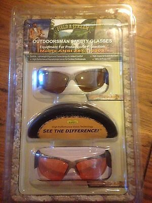 Field & Stream Outdoorsman Safety Glasses Meets ANSI Z87.1-2003