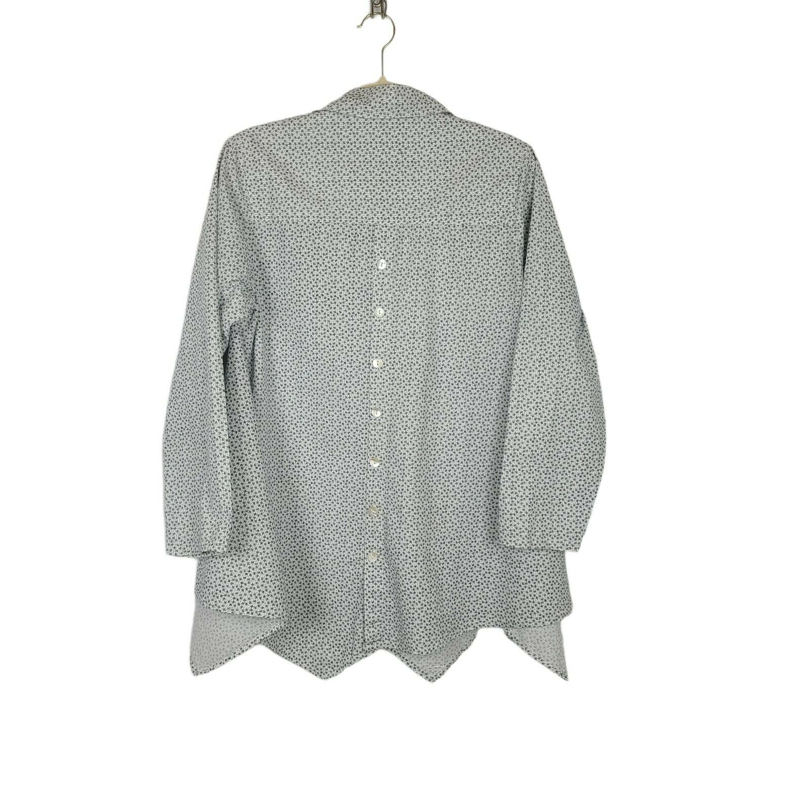 Tulip Women's Button Down Blouse Size Small Overs… - image 2