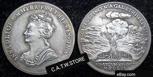 Battle-of-Vigo-Bay-1702-Medal-Anne-Stuart-Queen-of-Britain-and-Scotland-Replica