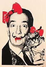 "Death NYC - Dali Bow ""Rare Limited Edition Signed Graffiti Print"""
