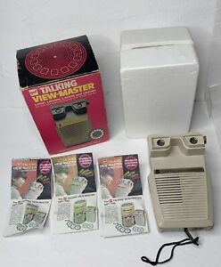 Vintage-GAF-Brand-Talking-Viewmaster-In-Original-Box