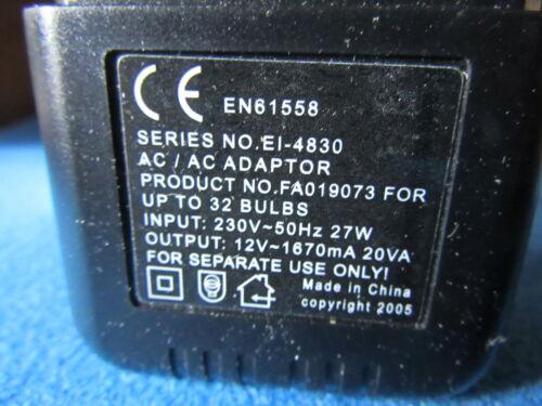 32bulb 20va12v lt9073 Bambole Casa Illuminazione Trasformatore