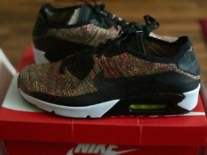 Details about nike Air Max 90 Ultra 2.0 Flyknit MULTI COLOR MENS SIZE US 12 875943 002