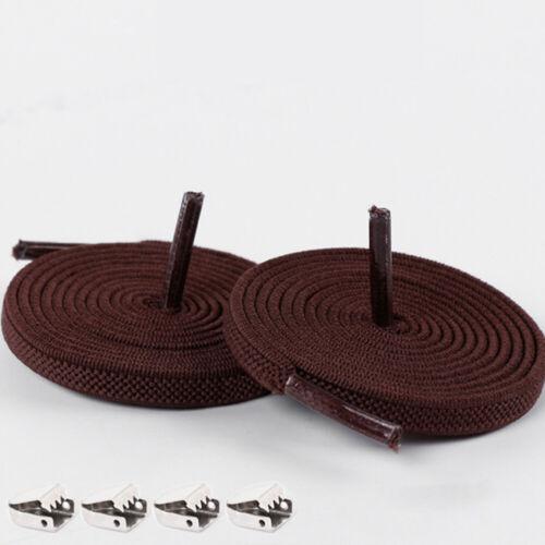 1 Pair Free Tie-free Shoelace Stretchy Elastic Lazy Shoelaces Flats Shoe Laces