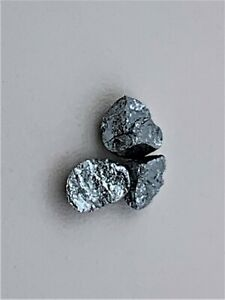 Blue-Gold-11k-Au-In-Alloy-0-04-0-147g-Pure-Periodic-Table-Element-Collection