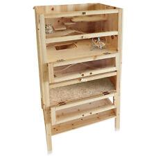 Holz Hamsterkäfig Nagerstall Kleintierkäfig Mäusekäfig Rattenkäfig Stall