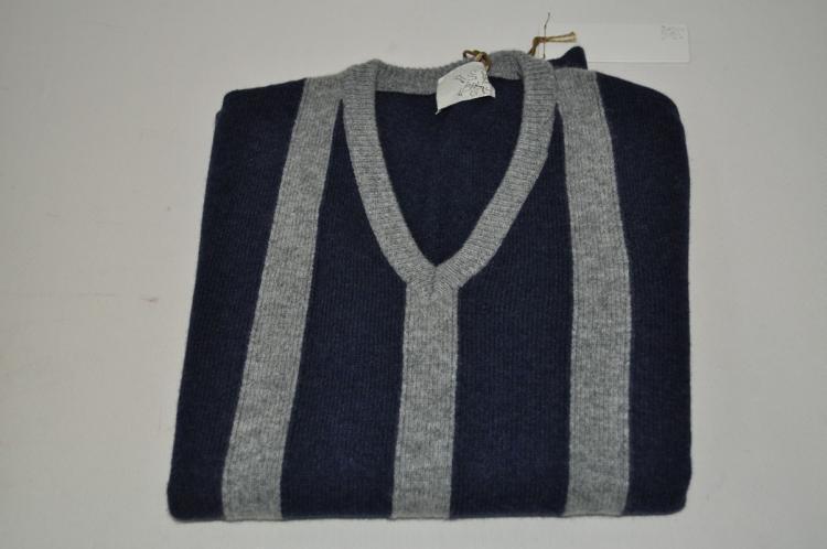 Mauro grifoni  -  Sweaters - Male - Blau - 2296317A182111