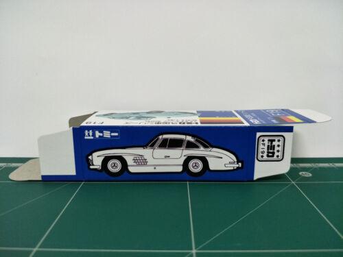 REPRODUCTION BOX for Tomica Blue Box No.F19 Mercedes Benz 300SL