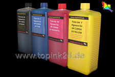 4x 1 L Nachfüllset UV Tinte für HP Designjet C1892A C1893A C1894A C1895A Pigment