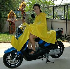 EMERGENCY RAIN CAPE MOTOR BIKE SCOOTER MOPED PUSH BIKE MOBILITY SCOOTER INT POST