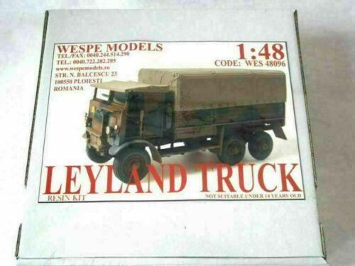 LEYLAND TRUCK Wespe Modelle 1:48 SCALE Resin Kit 48096