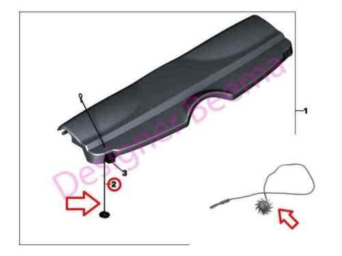 MINI F56 Rear Parcel Shelf Cord JS