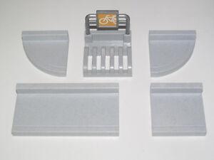Playmobil-Piece-Construction-Plaque-Trottoir-45-x-45-mm-Modele-au-Choix-NEW