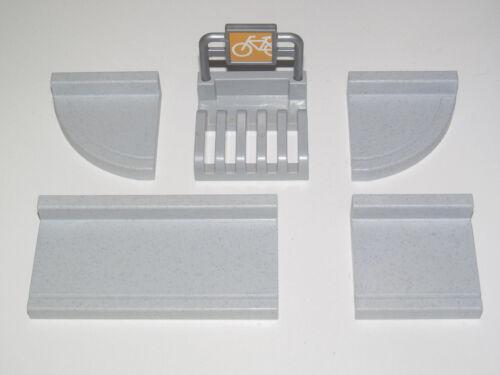 Playmobil Pièce Construction Plaque Trottoir 45 x 45 mm Modèle au Choix NEW