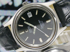 Vintage-Omega-Seamaster-37mm-Cosmic-2000-Automatic-Date-Steel-Mens-Watch