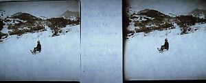 Plaque-photo-stereoscopique-photographie-Halte-de-Cornaux-Mont-Riant-5-avr-1929