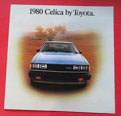 Cressida Supra Mr2 Celica 4Runner 1986 Toyota 20-page Sales Brochure Catalog