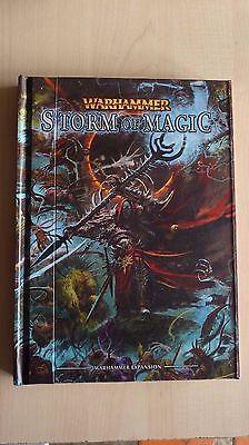 Warhammer Fantasy Battles Tempesta Di Magia Rilegato Libro Circa 2010 Fuori Catalogo Raro-mostra Il Titolo Originale Per Migliorare La Circolazione Sanguigna