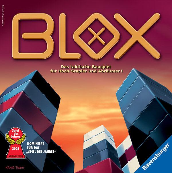 Ravensburger blox taktikspiel juego de estrategia juego de mesa niños juego bauspiel
