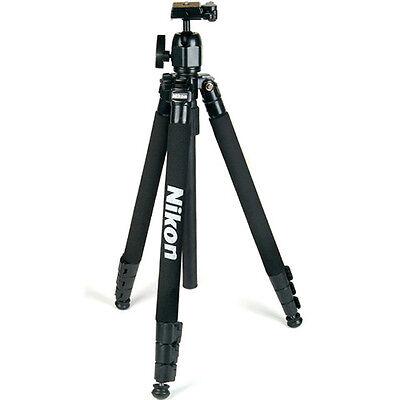 "NEW Genuine Nikon SLR Tripod (65"") w/ Ball Head & Case for SLR DSLR Camera"